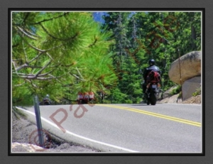 Riders Enjoying Lake Tahoe E S R BC P7260024